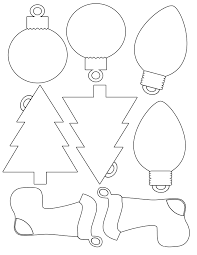 free printable christmas ornaments stencils free printable christmas ornament templates tire driveeasy co