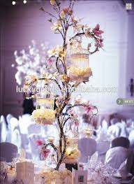 Decorative Bird Cages Wholesale Wholesale Personized Cream White Decorative Bird Cage For Wedding