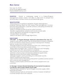 supply chain manager resume supply chain officer sample resume