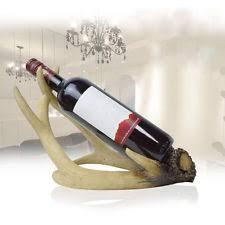 deer antler wine rack ebay