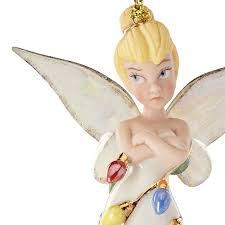 all wrapped up tink lenox ornament disney ornament