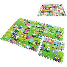 tappeti puzzle 6 pz set educativo bambino tappeti puzzle 60 60 2 cm bambini