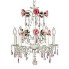 Pink Chandelier Light Candle Style Pink Hanging Lights Lighting U0026 Ceiling Fans