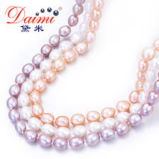 white freshwater pearls necklace images Daimi natural pearl necklace casual 7 8mm rice pearl choker jpg
