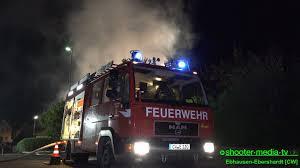 Feuerwehr Bad Wildbad Scheune In Brand Feuerwehr Kann Wohnhaus Halten