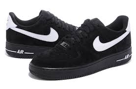Comfortable Nike Shoes Discount Comfortable Nike Air Force 1st 2012 Men Black White