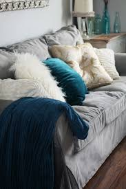 i want to get this grey velvet slipcover for my ikea ektorp sofa