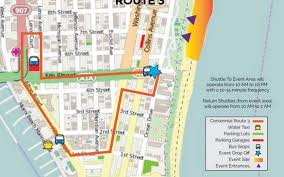 Miami Area Map by Free Shuttles Will Be Available In Miami Beach For Centennial