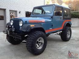 old parked cars 1986 jeep jeep cj7 renegade original paint unrestored cj super solid lifted 4x4