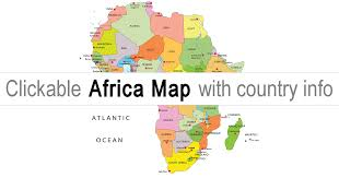 africa map map of africa africa map clickable