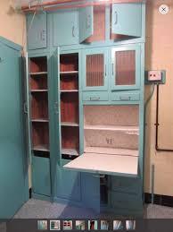 vintage retro 50 u0027s kitchenette larder pantry cupboard with clothes
