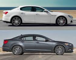chrome maserati ghibli anyone else think the 2014 cadenzas kind of resemble the maserati