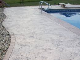 patios and pool decks in decorative concrete