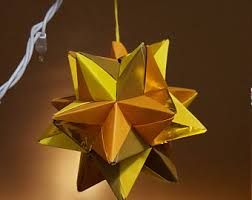 origami ornament etsy