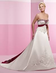 Red And White Wedding Dresses Red White And Blue Wedding Dresses Wedding Dresses In Jax
