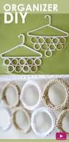 closet organizer diy knitted hangers new year new you