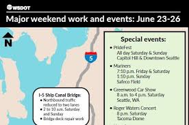 wsdot seattle traffic map statewide traffic delays expected this weekend wsdot says q13