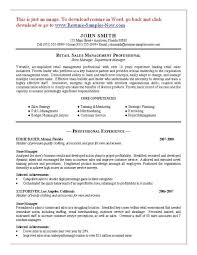 Retail Manager Sample Resume by Retail Manager Resume Cover Letter Coffee Shop Manager Sample