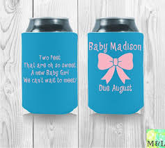 baby shower koozies 66 best baby shower koozies images on template