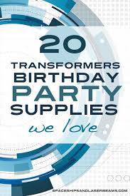 transformer rescue bots party supplies 20 transformers birthday party supplies we spaceships and