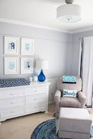 Curtains For Baby Boy Nursery by Cool Baby Boy Nursery White Crib Dark Blue Baby Changing Station