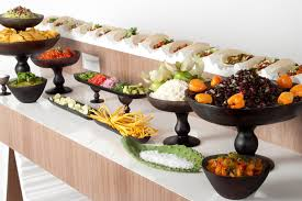 make your own buffet table pinch food design in new york created a taco station where guests