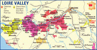 Wine Map Of France by Logan Wine Blog Wine Region Loire Valley