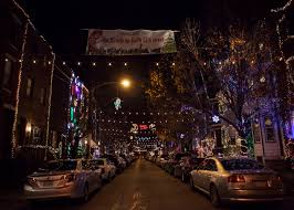 christmas lights in philly 5 blocks to catch griswold esque displays
