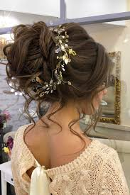 bridal hair bun 18 gorgeous wedding bun hairstyles see more w wedding vlogs