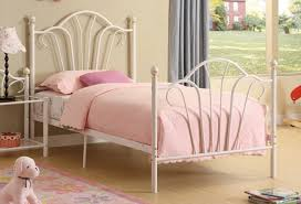 Twin Sized Bed White Metal Twin Size Bed Steal A Sofa Furniture Outlet Los