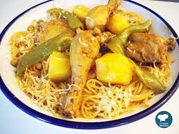 cuisine tunisien recette facile de spaghettis au poulet cuisine tunisienne