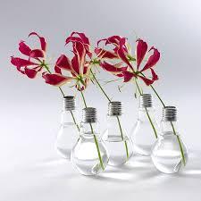 lightbulb vase by london garden trading notonthehighstreet com