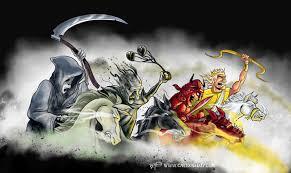 four horsemen of the apocalypse cartoon cartoon