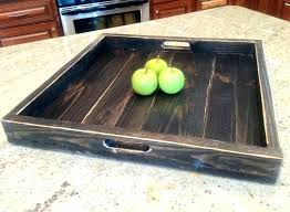 Large Serving Trays For Ottomans Wonderful Large Serving Tray Ottoman Large Serving Tray Buy
