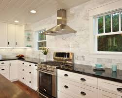 Carrara Backsplash Houzz - Carrara backsplash