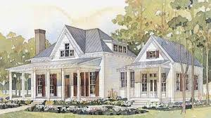 Southern Living Plans by Vintage Farmhouse Coastal Living Cottage Dream House