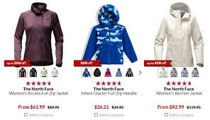 north face clearance as low as 9 99