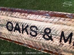 Barn Wood Letters Saunzee Signs Barn Wood Signs