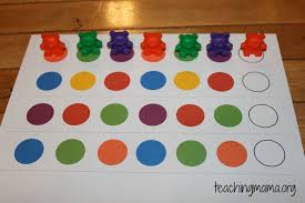 on math activities for preschoolers