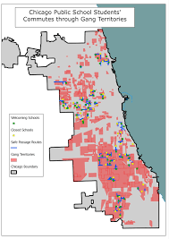 Chicago Shootings Map by The Geospatial Enthusiast Chicago Public Students And