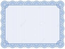 certificate frame blank certificate frame isolated on white royalty free cliparts