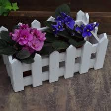 aliexpress com buy cute u0026 beautiful white wooden fence flower