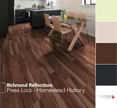 Press Lock from Richmond Reflections flooring vinyl decor home