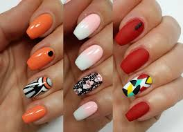 3 easy accent nail ideas freehand 1 khrystynas nail art youtube