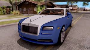 roll royce rod rolls royce for gta san andreas