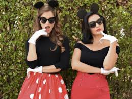 Minnie Mickey Halloween Costumes 9 Disney Diy Halloween Costumes Throw Minutes