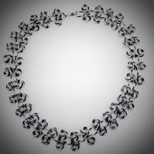 all diamond necklace images Black silver diamond cut necklace 2173 all wired up jewelry jpg