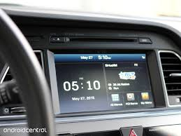 comparing android auto to hyundai u0027s infotainment system in the