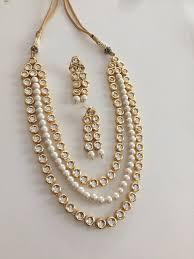 long necklace set images Kundan necklace set kundan set long kundan necklace indian jpg