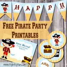 pirate party supplies free printable pirate party supplies itsy bitsy